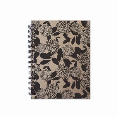 quaderno in canapa crisantemo carta canapa
