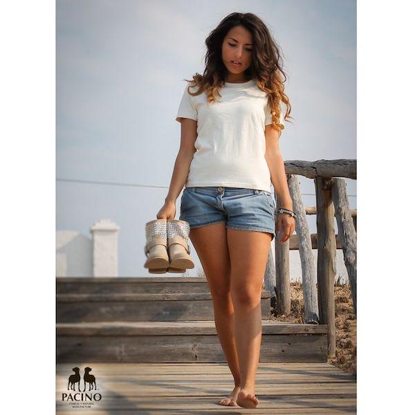 T-shirt-Donna-PACINO bianca