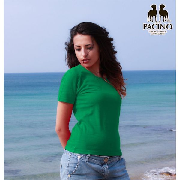 T-shirt-Donna-PACINO verde